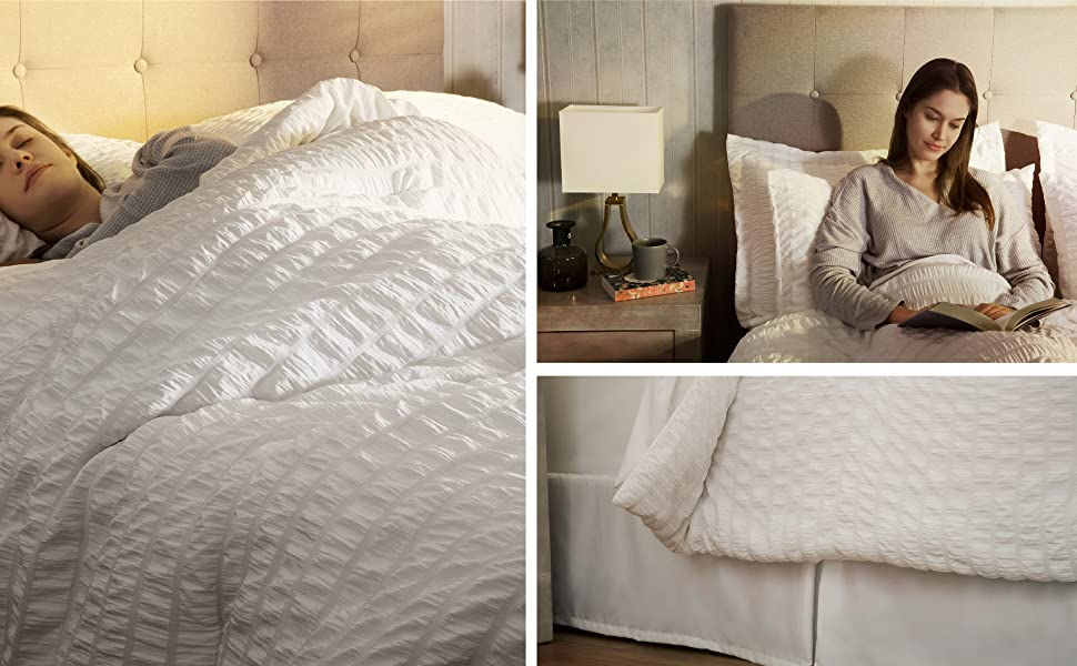 user images of the Bedsure 6 Pieces Bed-in-A-Bag