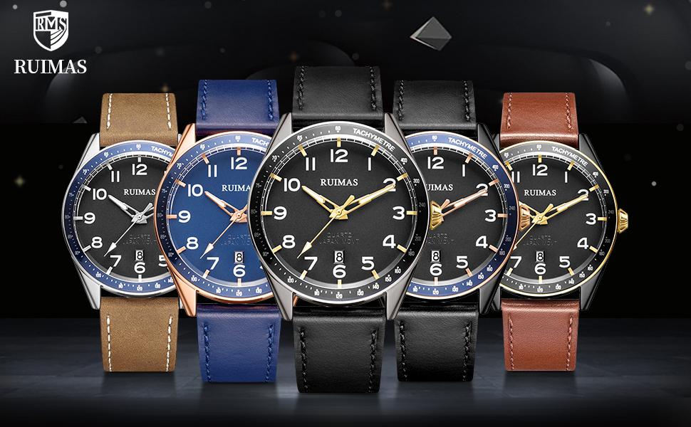 men's automatic quartz watches