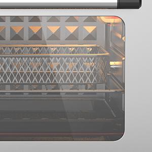 Easy-view Glass Door