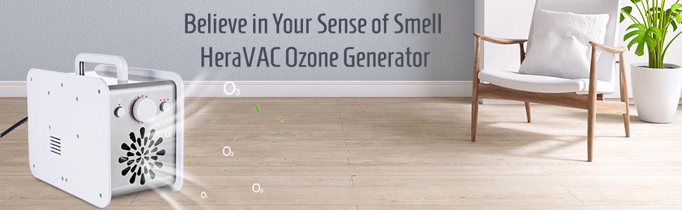 HERAVAC OG-75 Ozone Generator Machine Ionizer Air Purifier