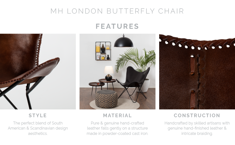 Butterfly Chair MH London