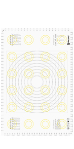 XXL Pastry Mat Comparison Chart