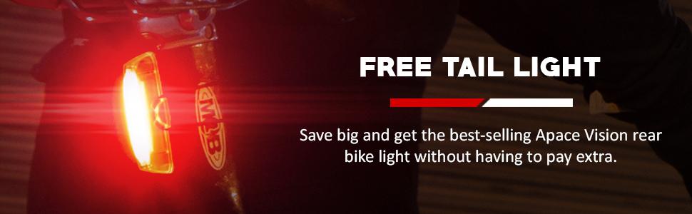 free guard g3x bike tail light bicycle rear light