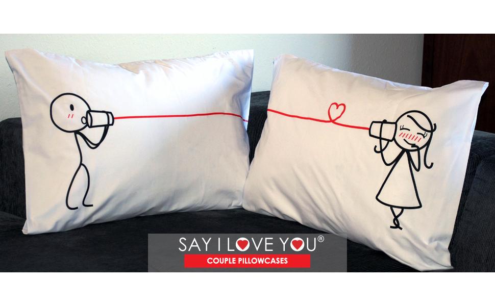 I know Pillowcases #15 I love you
