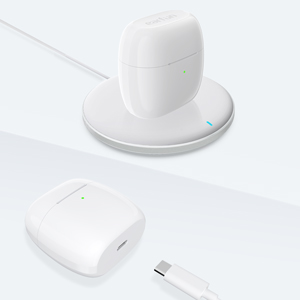 wireless charging earbuds