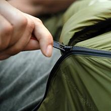 Full-length YKK zipper