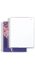 """Coiled Notebook-  7""""x9"""" Lined"""