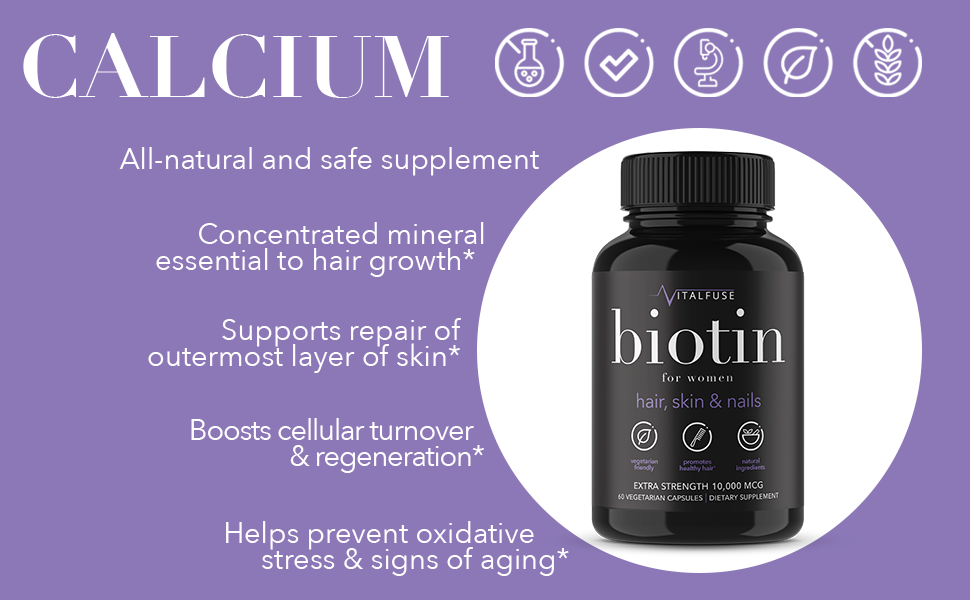 natural calcium cell growth anti aging