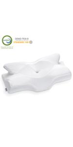 Elviros Cervicail Memory Foam Pillowcase (NOT Included Pillow)