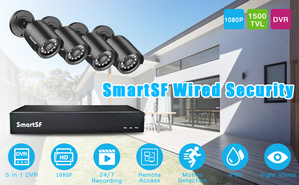 wired security camera