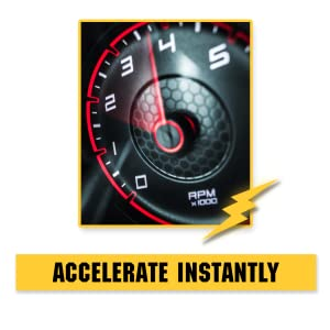 speedometer instant acceleration