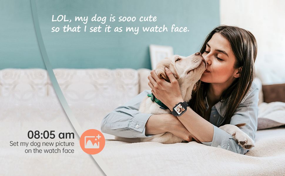 Customize watchface