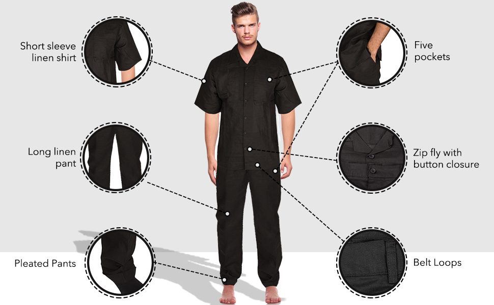 Our short sleeve shirt has five pockets