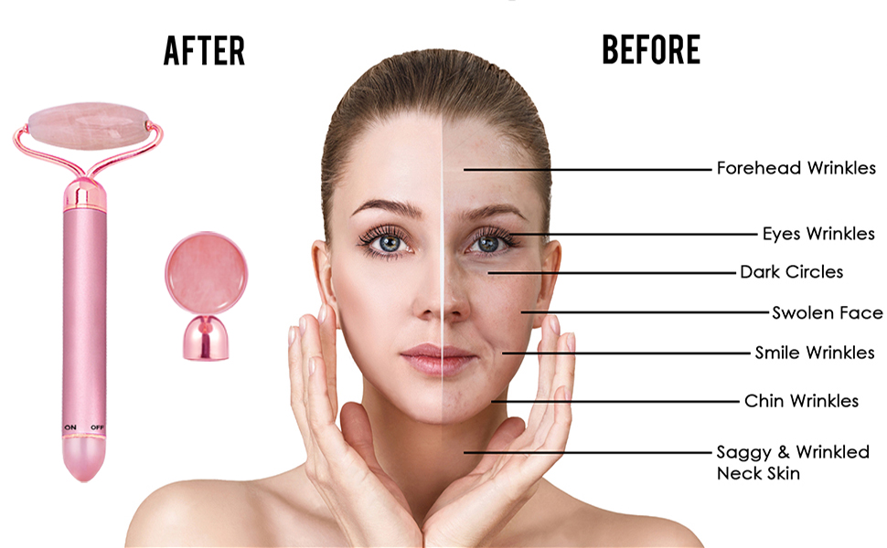 Anti wrinkles anti aging face roller