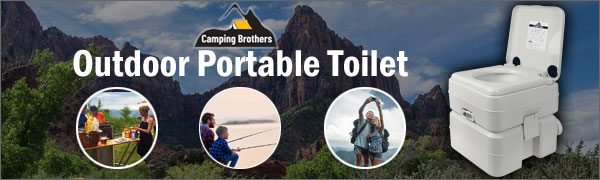 Camping Brothers Outdoor portable toilet