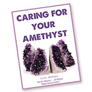 Caring for your Amethyst crystals
