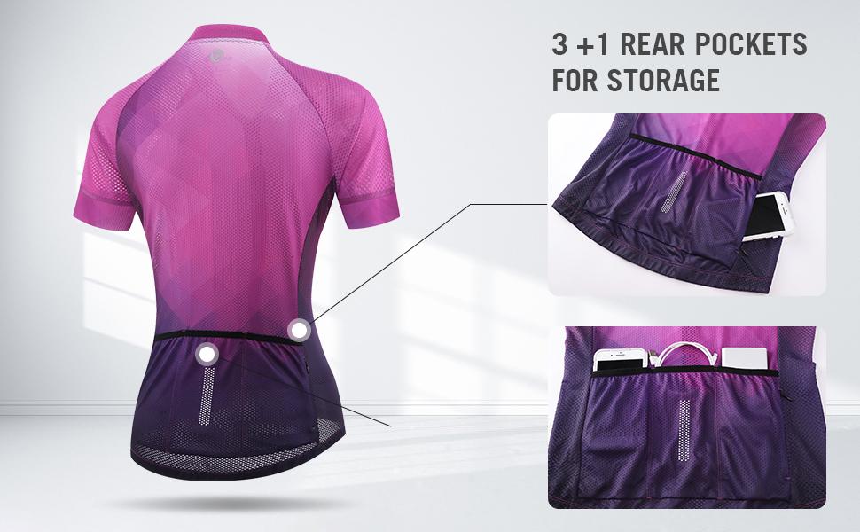3 +1 Rear Pockets