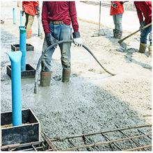 INTBUYING 220V 250W Portable Handheld Cement Vibrating Machine Troweling Concrete Vibrator Concrete Flat Plate Vibrator