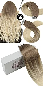 hair extensions tape in