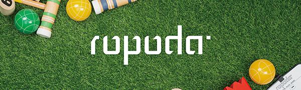 ROPODA Kubb Game Premium Set