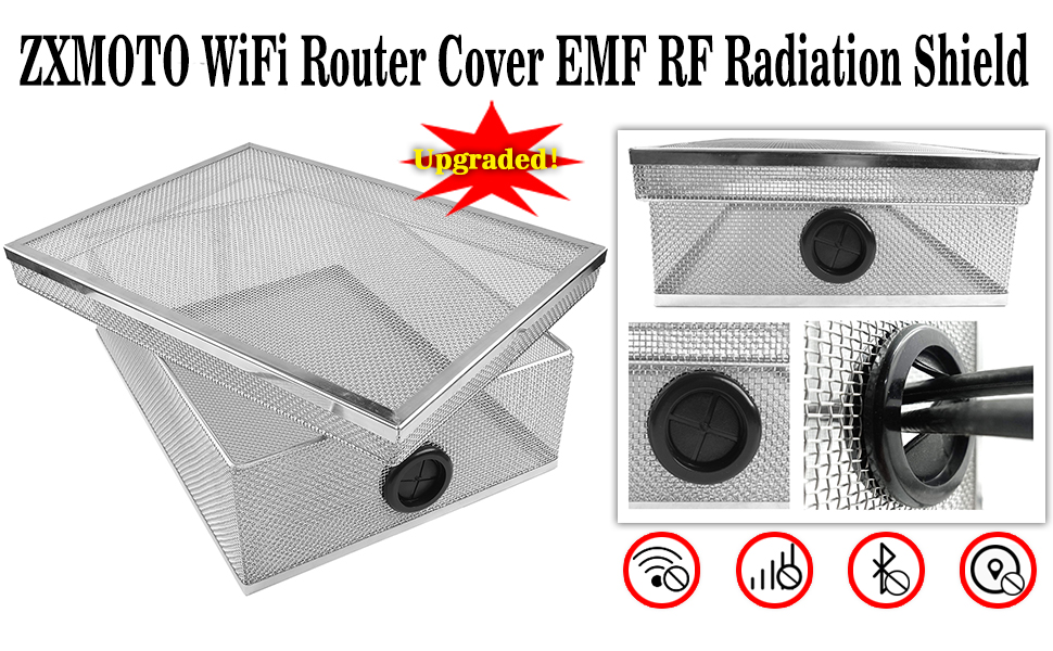 EMF Blocking Wifi Router Cover EMF Guard EMF WiFi Cover WiFi Radiation Cover