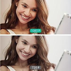 Skycam HD Stereo Camera Sharp Image Screen Recorder for Facetime WhatsAapp Youtube Chrome Xspilt