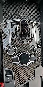 Carbon Fiber Gear Shift Box Panel Frame