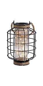 Metal Cage LED Lantern