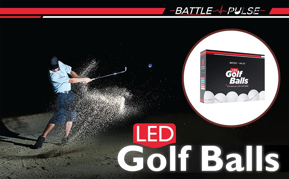 glow v flourescent golf balls florescent fluorescent night in the dark flag l ball putt sports usa