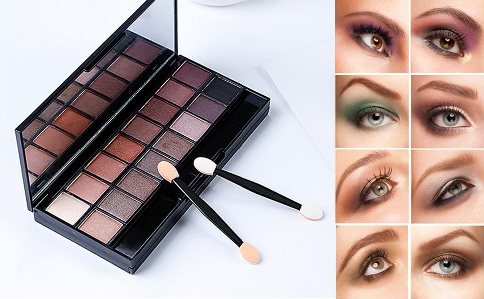 variety eyeshadow looks