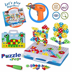 Electric Drill Puzzle Toys