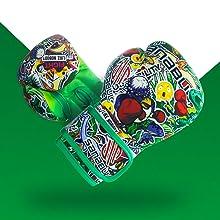 sticker bomb green