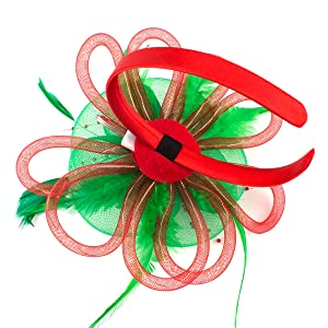 Christmas light headbands for women