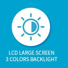 3 kleuren achtergrondverlichting