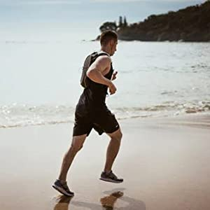 The workout 2-in-1 running shorts is great for running, fitness, training, hiking, gym, basketball