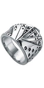 Poker Game Biker Ring