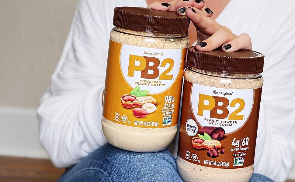 PB2 Powdered Peanut Butter Plant Based Vegan Protein Powder