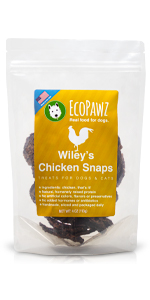 EcoPawz, Wiley's Treats, Turkey Snaps