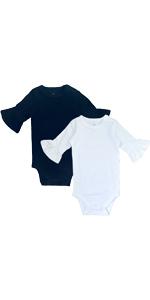 Baby Girl Bell Sleeve Bodysuit
