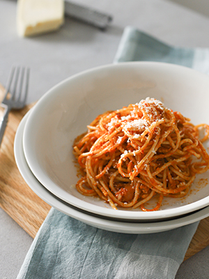 dinner pasta bowl