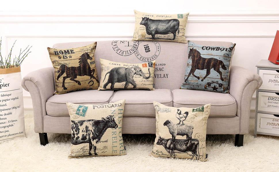 trendin farmhouse throw pillow covers