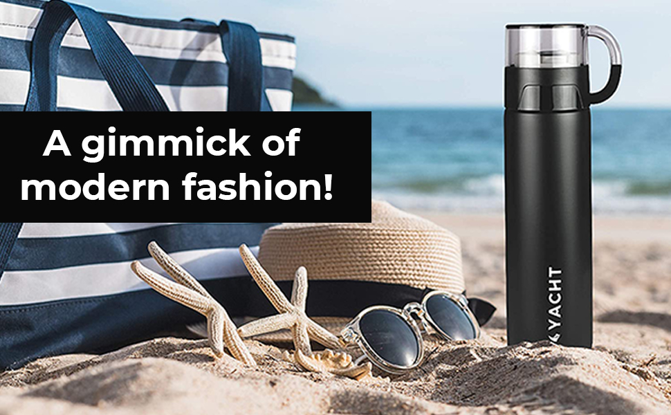 Yacht flask coffee thermosteel bottle vacuum insulated hot and cold 24 hours botal thermos steel