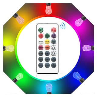 LEDストリングライト屋外15m 調光調色LEDイルミネーションライト