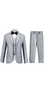 Toddler Suit for Boys Tuxedos for Wedding