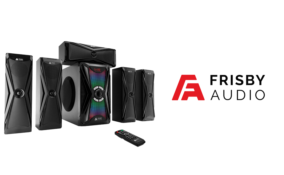 Frisby Audio surround sound system, home theater system for tv