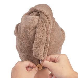 Microfiber Hair Towel Wrap Rapid Drying Hair Towel for Women Magic Hair Drying Towel Hair Towel Hat