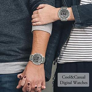 digital watches unisex