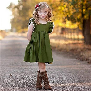 Zoiuytrg Baby Girl Summer Autumn Dress Kids Princess Party Tutu Dresses Clothes 0-5 Years