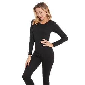 womens thermal long underwear set