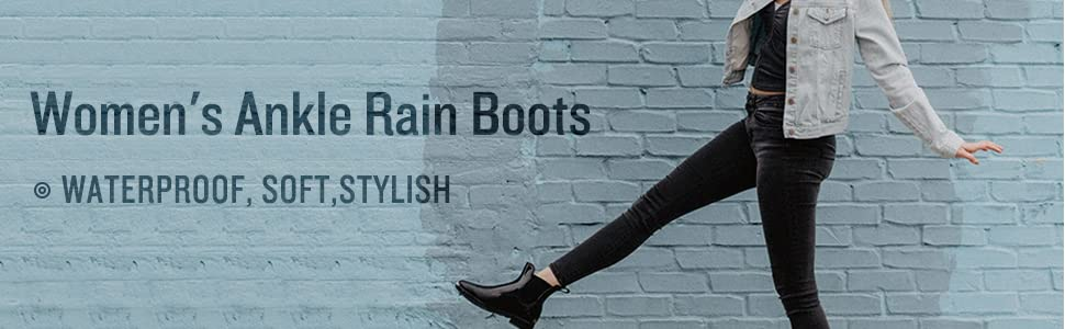 rain boots for men women